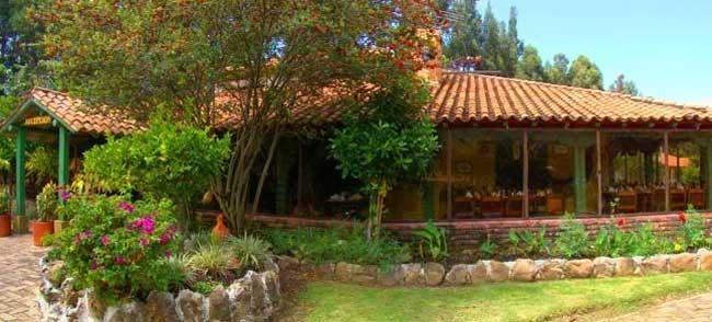 Hotel iguaque campestre - Jardines rusticos campestres ...